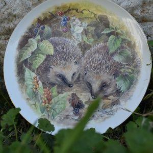 Hedgehog Decorative Plate